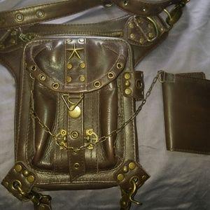 Jungle Tribe festival holster bag. Convertible.